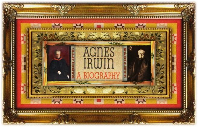 Agnes Irwin(30 dec 1841 – 05 dec 1914 | Washington DC - Philadelphia PA) author, editor, educator, political family member, Radcliffe College first dean | women.born.today © susan.powers.bourne