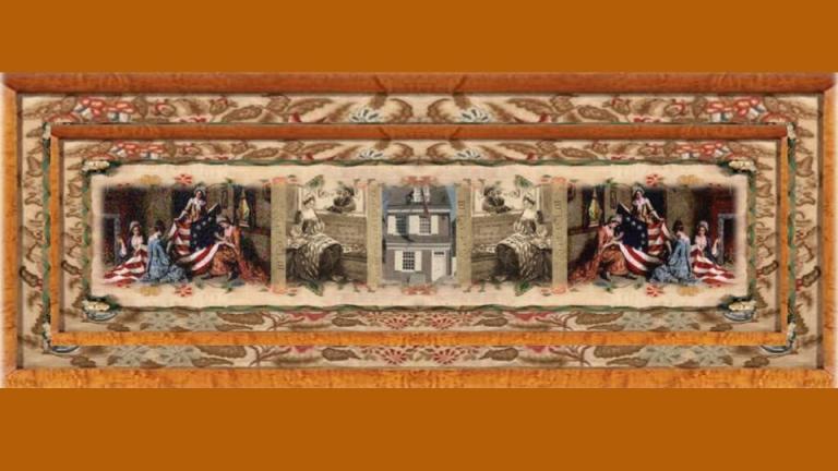 01 jan 1752 Elizabeth Griscom Claypoole aka Betsy Ross