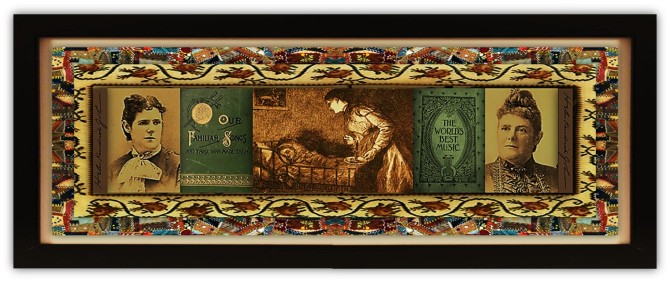 Helen Kendrick Johnson (04 jan 1844 – 03 jan 1917 | Hamilton NY - Rochester NY) poet, activist, travel writer, children's author | women.born.today © susan.powers.bourne