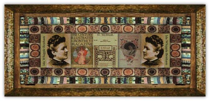 Ida Whipple Benham(08 jan 1849 - 21 may 1903 | Quakertown CT - Ledyard CT) poet, hymnist, educator, peace activist,American Peace Society director, Universal Peace Union executive committee member | women.born.today © susan.powers.bourne