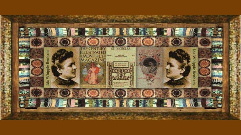 08 jan 1849 Ida Whipple Benham