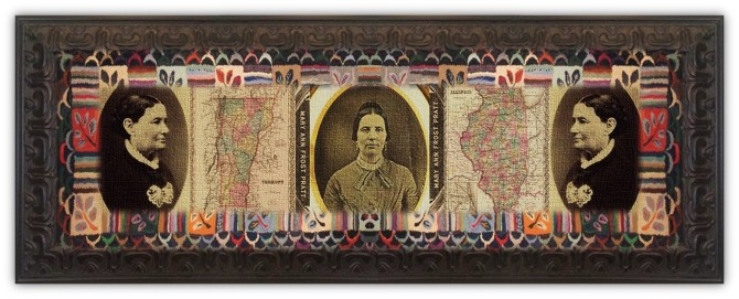 Mary Ann Frost Stearns Pratt(14 jan 1809 - 24 aug 1891 | Groton VT - Pleasant Grove, Utah Territory) midwife, essayist, early feminist, Mormon folk figure, legal / political activist, allegedly married to one or two original LDSfounders | women.born.today © susan.powers.bourne