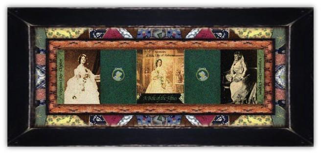 Virginia Caroline Tunstall Clay-Clopton(16 jan 1825 - 23 jan 1915 | Nash County NC - Gurley AL) author, memoirist, political wife, suffragist, United Daughters of the Confederacy member | women.born.today © susan.powers.bourne