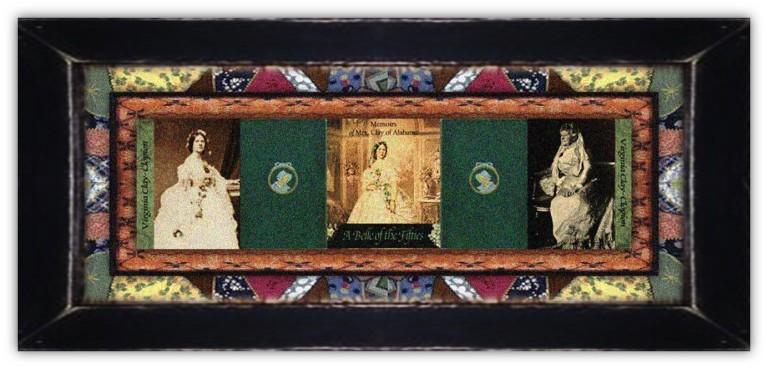 Virginia Caroline Tunstall Clay-Clopton(16 jan 1825 - 23 jan 1915   Nash County NC - Gurley AL) author, memoirist, political wife, suffragist, United Daughters of the Confederacy member   women.born.today © susan.powers.bourne