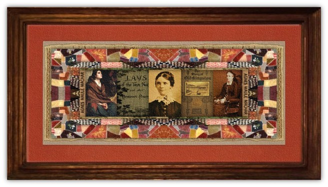 Agnes Maule Machar (23 jan 1837 - 24 jan 1927 | Kingston, Ontario - Kingston, Ontario) poet, author, novelist, essayist, feminist, biographer, social reformer, pen-name Fidelis | women.born.today © susan.powers.bourne
