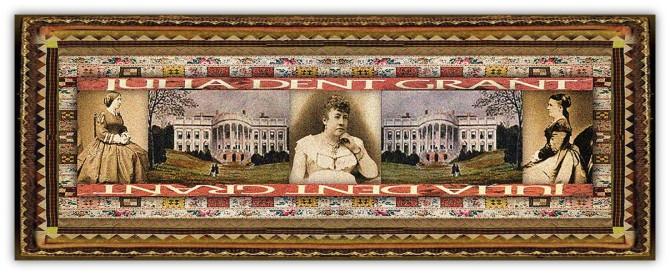 Julia Boggs Dent Grant(26 jan 1826 - 14 dec 1902 | St Louis MO - Washington DC) memoirist, US Presidential First Lady | women.born.today © susan.powers.bourne