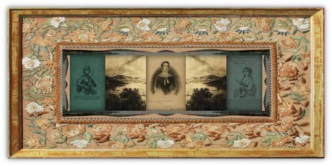 Eliza Allen Billings(27 jan 1826 - 1866 | EastportME - Eastport ME) memoirist, adventurer, disguised male soldierGeorge Mead in Mexican-American War | women.born.today © susan.powers.bourne