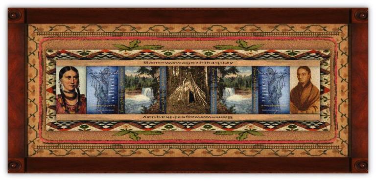 Jane Johnston Schoolcraft(31 jan 1800 - 22 may 1842   Sault Ste Marie MI - Dundas, Ontario) Scots-Irish-Ojibwe poet, writer, pioneer, translator, aka Bamewawagezhikaquay (Woman of the Sound the Stars Make Rushing through the Sky)   women.born.today © susan.powers.bourne