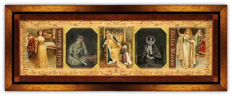Delia Salter Bacon(02 feb 1811 - 02 sep 1859 | Tallmadge OH - Hartford CT) poet, playwright, literary scholar, short story writer, Shakespearean theorist / researcher | women.born.today © susan.powers.bourne