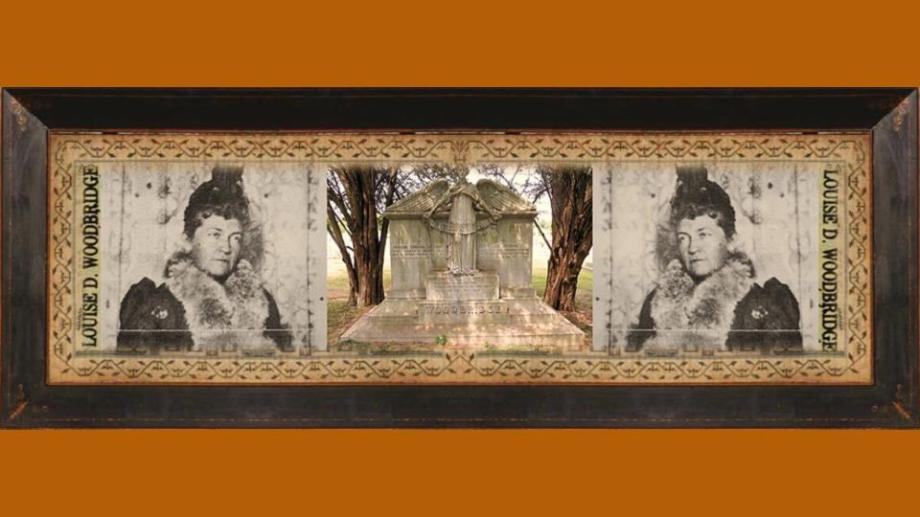 06 feb 1848 Louise Deshong Woodbridge