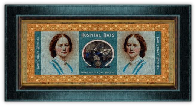 Jane Stuart Woolsey(07 feb 1830 - 09 jul 1891   Brooklyn NY- Fishkill NY) teacher, memoirist, Civil War Union nurse, field hospital superintendent   women.born.today © susan.powers.bourne
