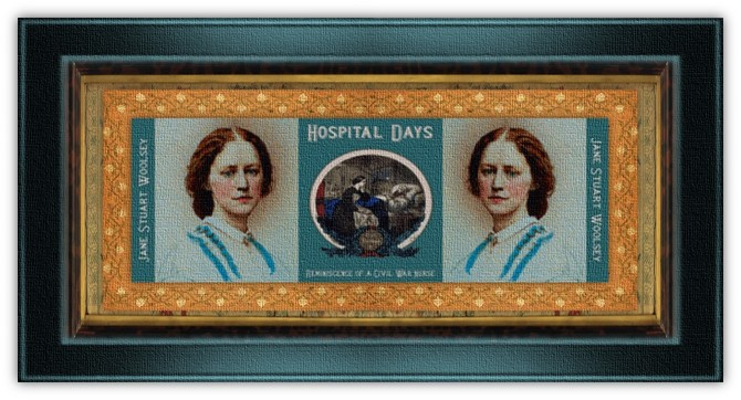 Jane Stuart Woolsey(07 feb 1830 - 09 jul 1891 | Brooklyn NY- Fishkill NY) teacher, memoirist, Civil War Union nurse, field hospital superintendent | women.born.today © susan.powers.bourne