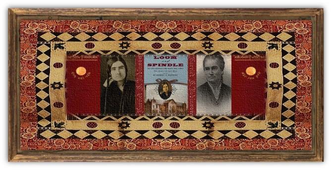 Harriet Jane Hanson Robinson(08 feb 1825 - 22 dec 1911 | Boston MA - Malden MA) poet, author, mill girl, bobbin doffer, social activist, suffragist leader | women.born.today © susan.powers.bourne