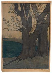 Colwell | Landscape with Elms