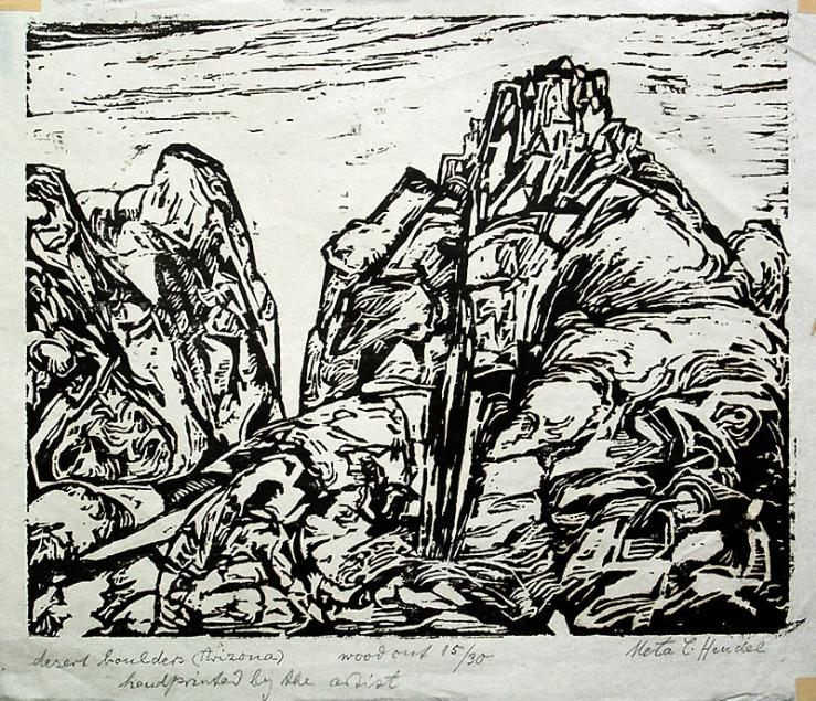 Hendel Desert-Boulders-Arizona