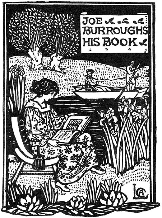 Levetus Joe Burroughs His Book