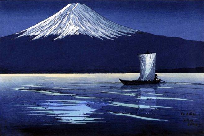 LMMiller | Moonlight on Mt Fuji