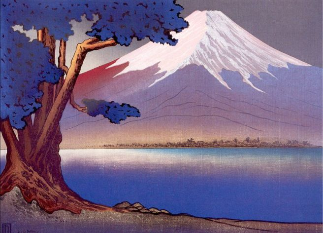 LMMiller Sunrise at Fujiyama