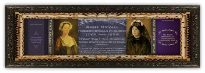 11 jun 1769 Anne Newport Royall