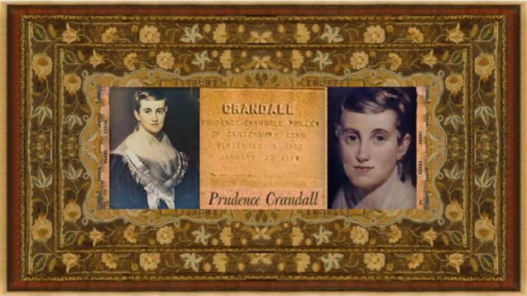03 sep 1803 Prudence Crandall