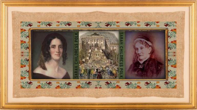 04 sep 1803 Sarah Childress Polk