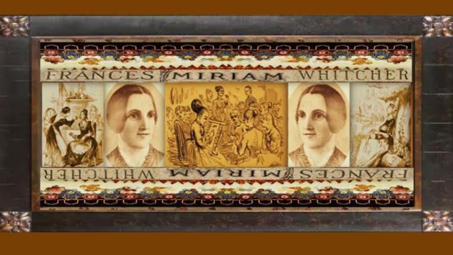 01 nov 1811 Frances Miriam Berry Whitcher