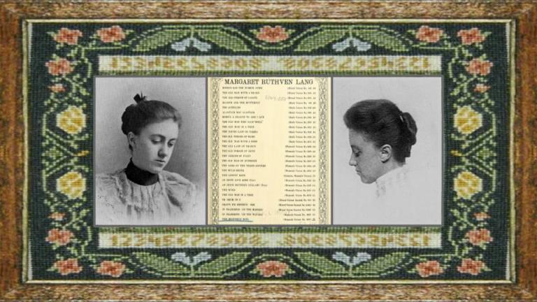 27 nov 1867 Margaret Ruthven Lang