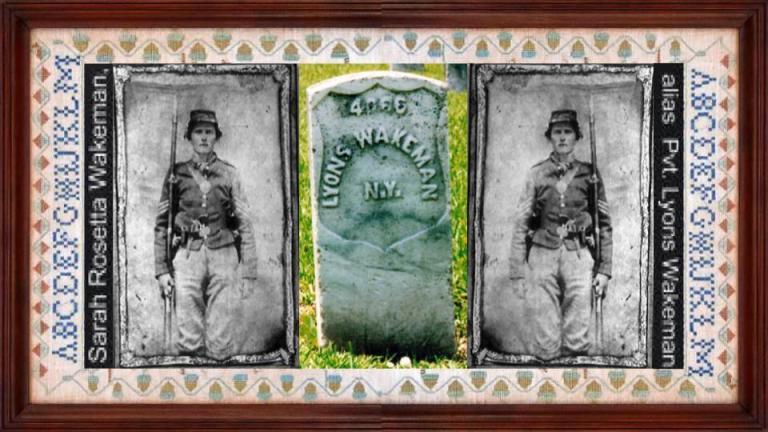 16 jan 1843 Sarah Rosetta Wakeman