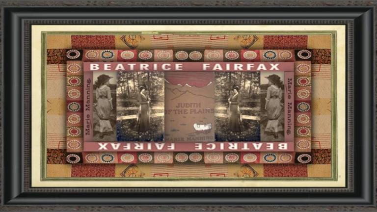 22 jan 1872 Marie Manning aka Beatrice Fairfax