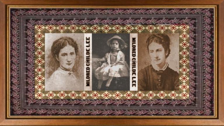 10 feb 1845 Mildred Childe Lee