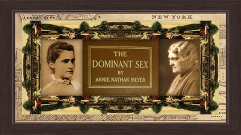 19 feb 1867 Annie Nathan Meyer