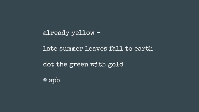 already yellow