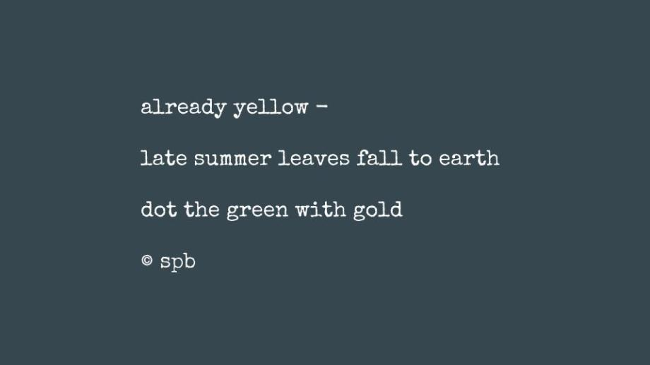 already yellow