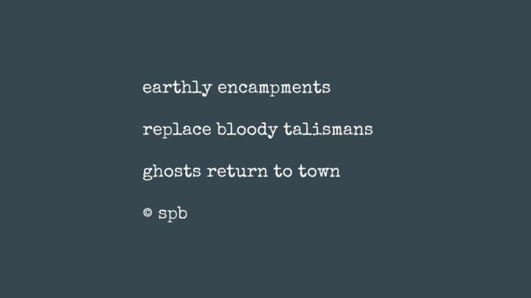 earthly encampments